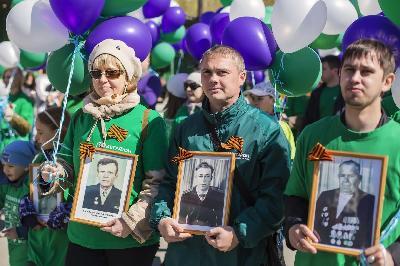 МегаФон на Урале готов к скоростным онлайн-репортажам Дня Победы